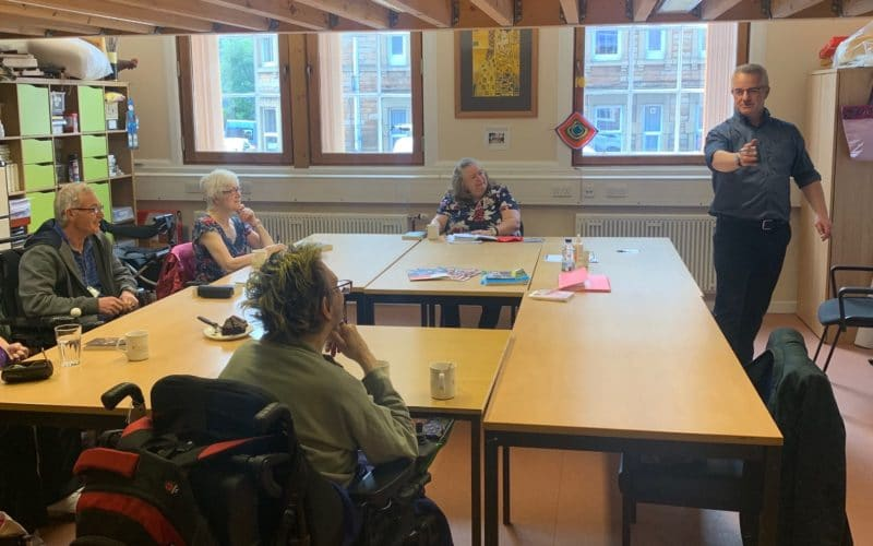 Ecas' Reading and Creative Writing group
