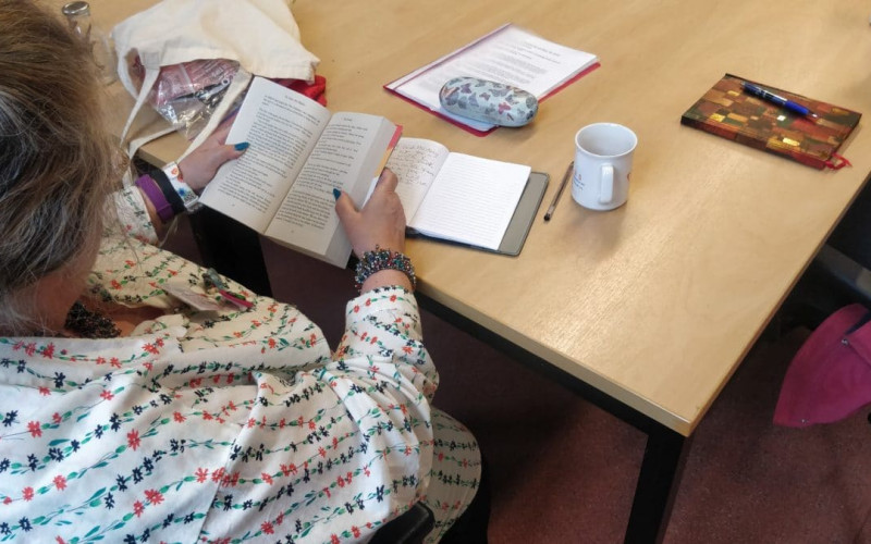 Ecas' Reading and Creative Writing activity participants regular have set books to read