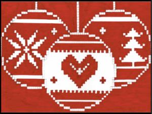 Nordic Christmas jumper design
